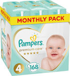Pampers Premium Care Monthly Box No 4 (9-14kg) 168τμχ