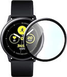 2x Tempered Glass for Galaxy Watch Active Black