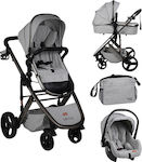 Mother Baby Genius 3 in 1 Sea Coffee Grey