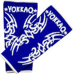 Yokkao Tribal Muay Thai Ankle Guards AY-3T Blue