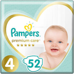 Pampers Premium Care Νο 4 (9-14kg) 52τμχ