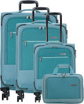 Travelite Arona 90240 Set 4x Blue