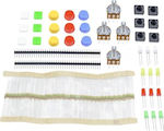 Arduino Parts Kit (Resistor/Potentiometer/Tact ...