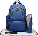 Kono Multifunction Maternity Backpack E6706-BLUE