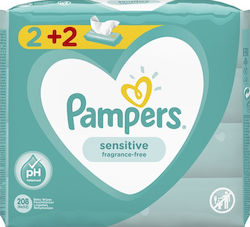 Pampers Sensitive 4x52τμχ