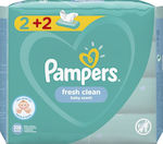 Pampers Fresh Clean 208τμχ