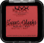 Nyx Professional Makeup Sweet Cheeks Blush Matt...
