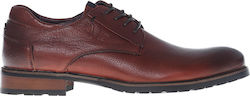 LACE UP DERBY BROGUE V1969 LACE UP SHOES WINE man