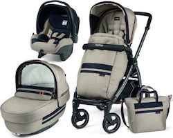 Peg Perego Book 51 S Jet Elite With Bag Luxe Ecru