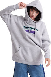 Superdry Nineties Applique W2000017A-HBA Grey