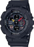 Ανδρικό Ρολόι Casio G-Shock GA-140BMC-1AER Black