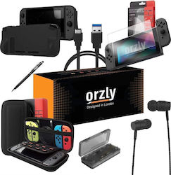 Orzly Essential Pack Black Switch
