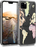 KW World Travel Back Cover Σιλικόνης Διάφανο (iPhone 11 Pro)