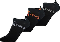 SUPERDRY SPORTS ULTIMATE SOCK 3PACK KAΛΤΣΕΣ ΑΝΔΡΙΚΕΣ M98707FP-02A (02A/BLACK)