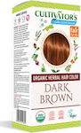 Cultivator Organic Herbal Hair Colour Dark Brown
