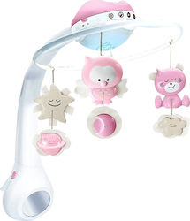 Infantino Musical Mobile 3 in 1 Projector Pink