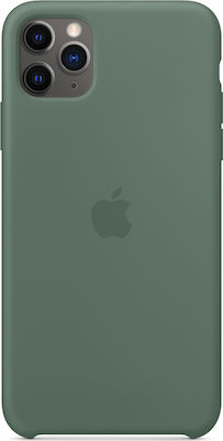 Apple Silicone Case Pine Green (iPhone 11 Pro Max)