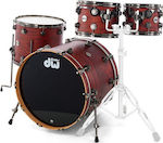 DW Drums Collector's Lacquer Specialty Oak Tobacco