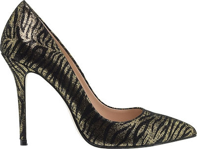 Mourtzi 100400 Gold Animal Suede