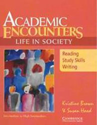 ACADEMIC READING ENCOUNTERS:LIFE IN SOCIETY