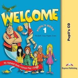 WELCOME 1 PUPIL'S CD WITH SONGS AND PLAY
