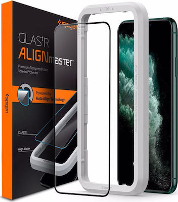 Spigen ALM GLAS.tR Full Face Tempered Glass (iPhone 11 Pro)