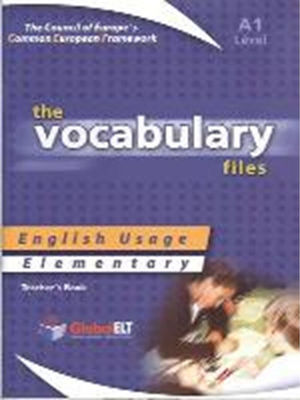 VOCABULARY FILES A1 TCHR'S
