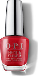OPI Infinite Shine 2 Scotland Collection Red Heads Ahead