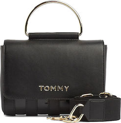 Tommy Hilfiger Τσάντα Δερματίνης Youthful Statement Xover AW0AW07482-BDS Black
