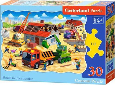 House In Construction 30pcs (B-03686) Castorland
