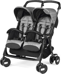 Peg Perego Aria Twin Shopper Cinder