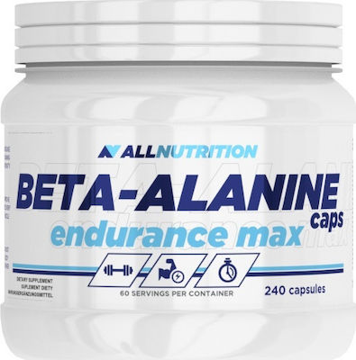 AllNutrition Beta-Alanine Endurance Max 240 κάψουλες