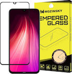 Wozinsky Case Friendly Full Face Tempered Glass (Redmi Note 8/8T)