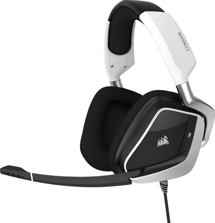 Corsair Void Elite USB White (CA-9011204-EU) - Πληρωμή και σε έως 36 Δόσεις!!!