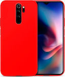 Back Cover Σιλικόνης Κόκκινο (Xiaomi Redmi Note 8 Pro)