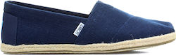Toms Washed Linen 10008553 Navy