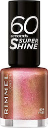 Rimmel 60 Seconds Super Shine Nail Polish 834 Fab!