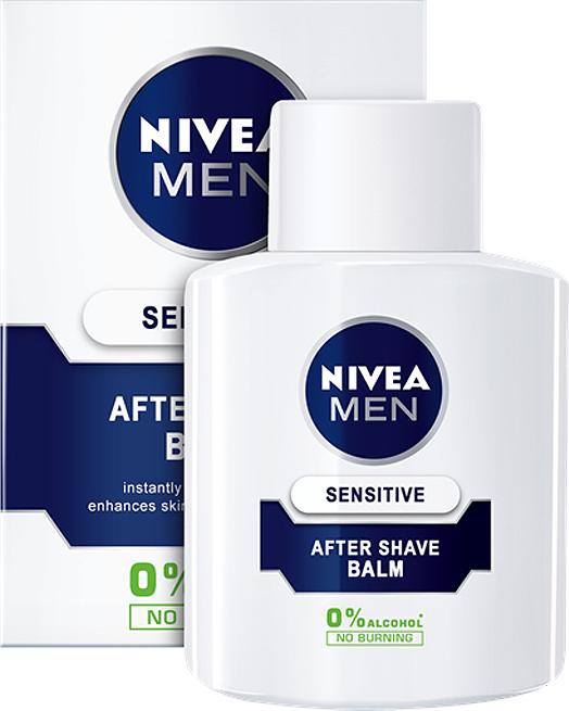 Nivea Sensitive After Shave Balsam 0% Alcohol No Burning 100ml - Skroutz.gr