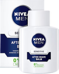 Nivea Sensitive After Shave Balsam 0% Alcohol No Burning 100ml
