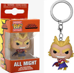 Pocket Pop! Keychain Funko Pop!: My Hero Academia - All Might (Silver Age)