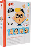 Funny Faces Boy 66pcs (58488) Goki