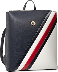Tommy Hilfiger Τσάντα Πλάτης Δερματίνης Th Core Backpack AW0AW08120-0GY Navy