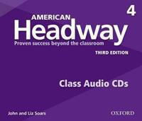 American Headway 4 3rd Edition Cds(4)