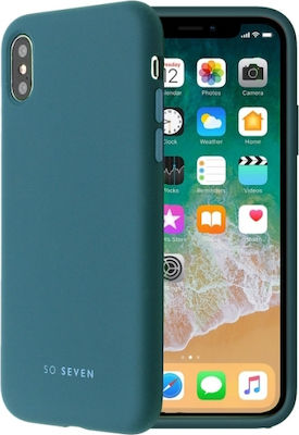 So Seven Back Cover Sea Blue (iPhone X / Xs)