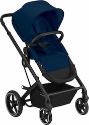 Cybex Balios S Lux Black Frame Navy Blue Gold Edition