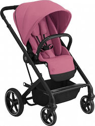 Cybex Balios S Lux Black Frame Seat Magnolia Pink Gold Edition