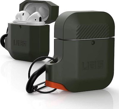 UAG Silicone Case For Airpods Olive/Orange