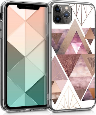 KW Back Cover Triangles Light Pink (iPhone 11 Pro)