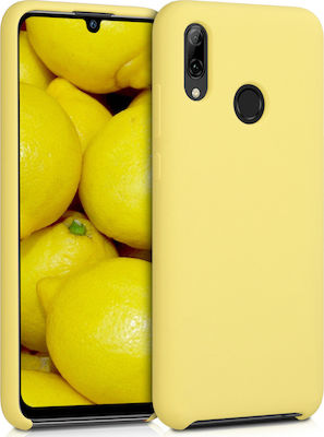 KW Soft Back Cover Yellow Matte (Huawei P Smart 2019)