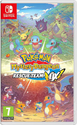 Pokemon Mystery Dungeon Rescue Team DX NSW Switch
